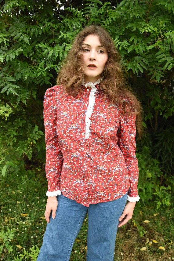 Calico Blouse