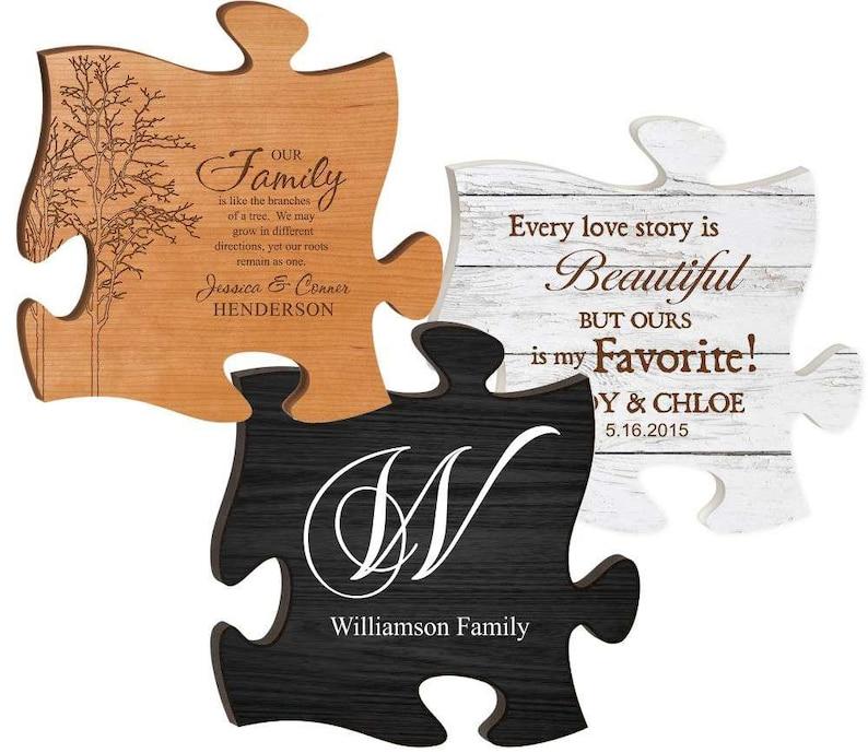 Puzzle Piece Godchild Gift