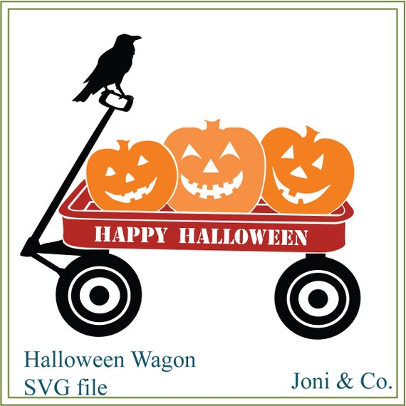 picture relating to Happy Halloween Signs Printable named Halloween svg, pumpkin wagon svg, pumpkin patch svg, halloween wagon, printable, iron upon shift svg, halloween signs or symptoms, gl blocks, crow