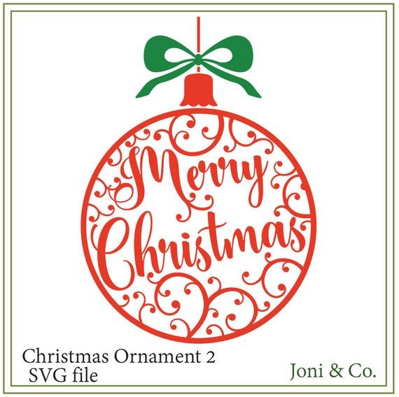 Merry Christmas Ornament Svg.Christmas Svg File Christmas Ornament Svg File Christmas Card Printable Glass Block Design Merry Christmas Svg Ornaments