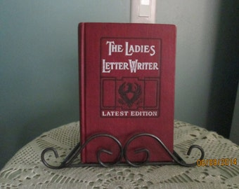 Rare Antique Book The Ladies Letterwriter / John Winston / Collectable Books