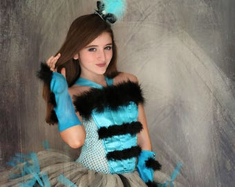 Blue Cheshire Cat from Alice Through the looking glass