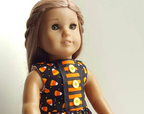 18 or 14 Inch American Handmade Halloween Dress American Made 18 Inch Doll Clothes