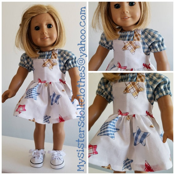 18 Inch Doll Clothes Jumper and Blouse American Made 18 Inch Doll Clothes