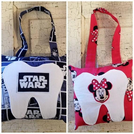 Tooth Fairy Pillow Star Wars Minnie Mouse