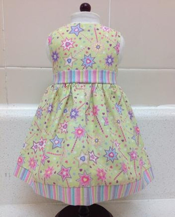 Magic Wand Dress American Made 18 Inch and 14 inch  Doll Clothes