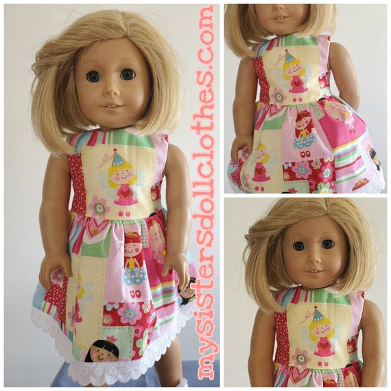 Pretty Princess Dress for American Girl Doll