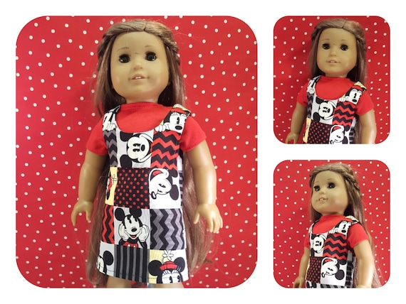18 Inch American Made Mickey Mouse Jumper With TShirt 18 Inch Doll Handmade