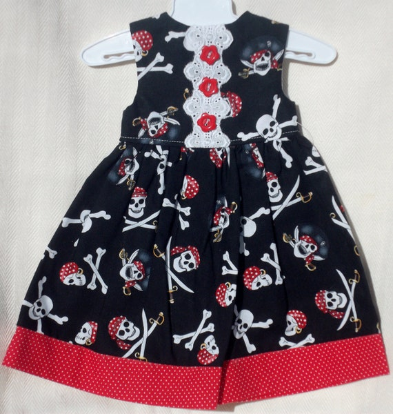 Skulls and Lace American Girl doll Dress