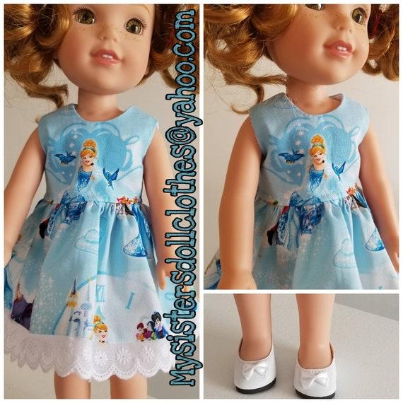 Cinderella Dress for  Wisher Wisher Doll