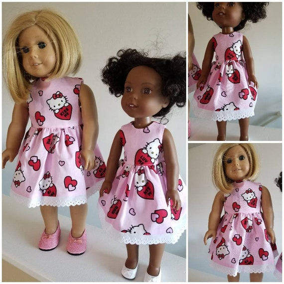 AG and WW Hello Kity Heart Dress