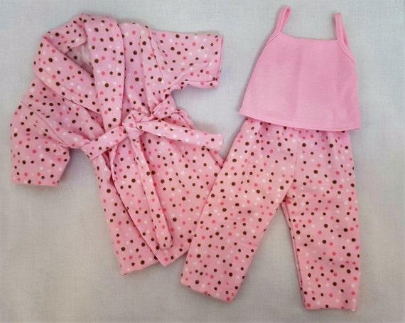 18 Inch American Handmade Bathrobe and Pajamas Doll Clothes