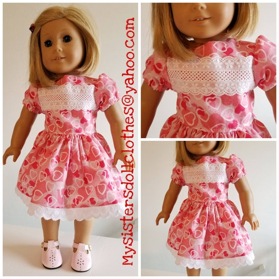 AG and WW Lace and Heart Dress for Valentine's Day