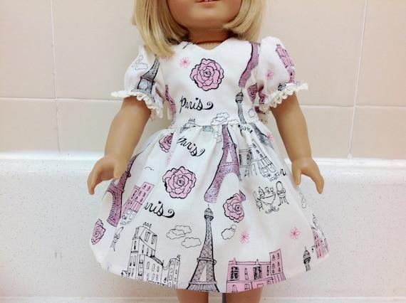 18 Inch Doll Paris Dress Grace Handmade American