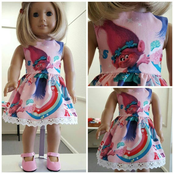 Troll Dresses for American Girl and Wellie Wisher.