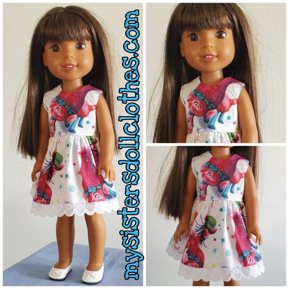 Troll Dress for the 14.5 Inch Doll Wellie Wisher