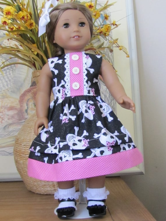 Skulls and Hearts for the American Girl Doll