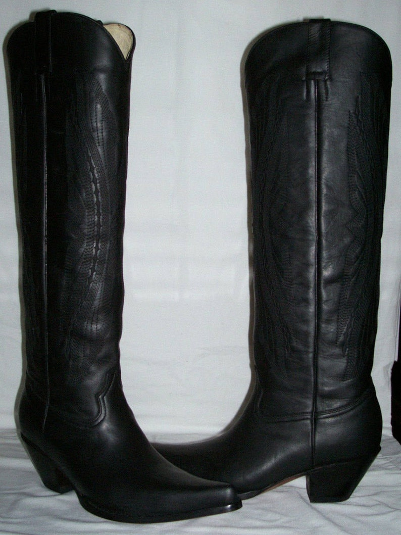 ec1d83a5b68 MEN made to order custom 16 inches high cowboy boots woman sizes