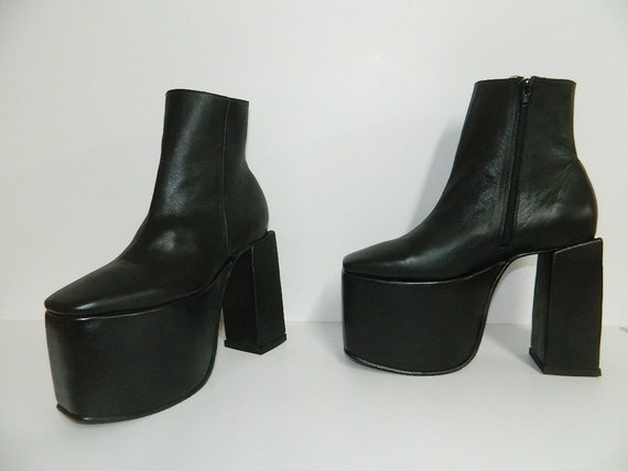 latest discount watch huge inventory Made to order platform 4 inches and heel at 6 inches 7 inch shaft with  inside zipper