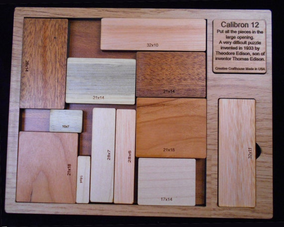 Buy Calibron 12 Very Difficult Wooden