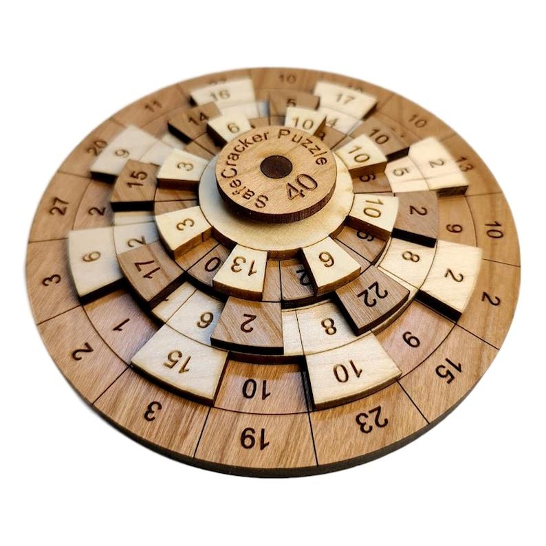 Safecracker 40 Math Puzzle image 0
