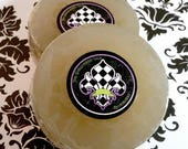 Ladies Shaving Soap Eventide Vegan Aloe Vera Hemp Oil Soap With Tea Tree Oil, Clay, and Calendula Extract - By Starlight Collection