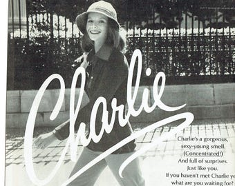 1973 Advertisement Charlie Perfume by Revlon 70s Womens Cologne Fragrance Style Fashion Popular Sexy Salon Wall Art Decor