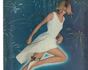 60091ec9c 1977 Advertisement Sheer Energy 8x11 L eggs Leggs Pantyhose 70s Fashion  Style Woman Legs Feel Good Look Fireworks Wall Art Decor