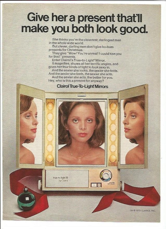 Items Similar To 1973 Advertisement Clairol True To Light