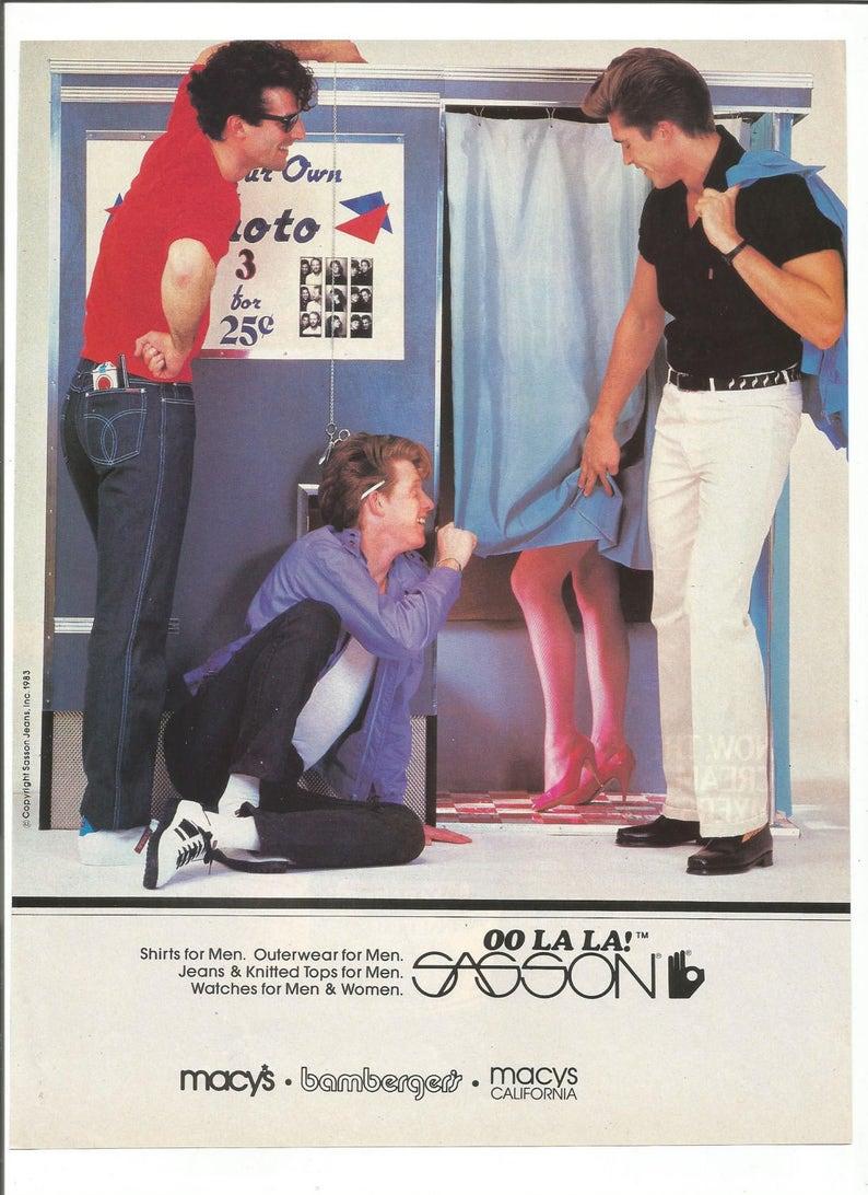 1983 Oo 80sEtsy Advertisement La Sasson Menswear Men's hQdCxrts