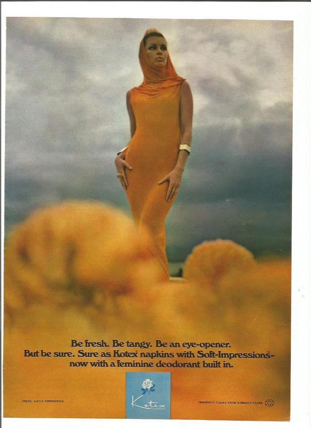 1972 Werbung Kotex Servietten Damenbinden 70er Jahre Gürtel | Etsy