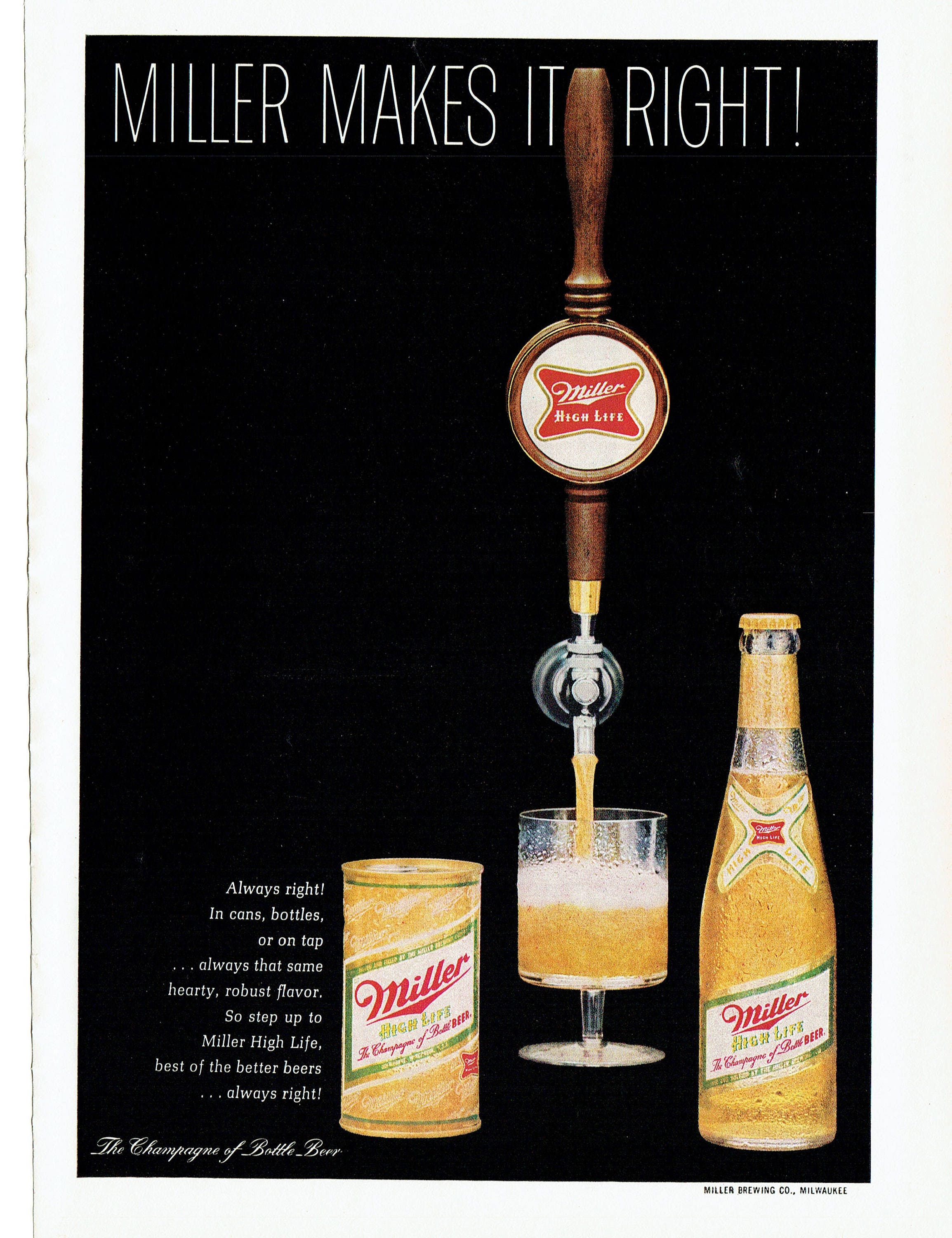Miller - canned and bottled beer. Description, composition and customer reviews 28