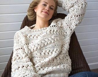 4c3c9b3aa814 Crochet sweater