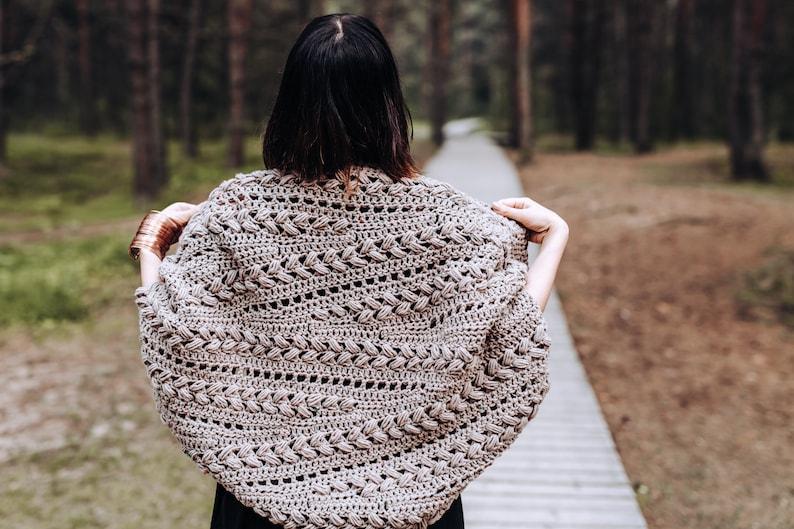 Crochet Cardigan pattern PDF  Inmost Cardigan  crochet image 0