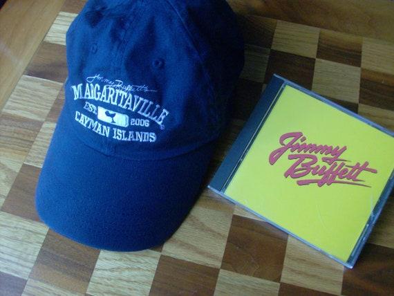 Jimmy Buffett CD and MARGARITAVILLE Cap Hat  69fadf0bf892