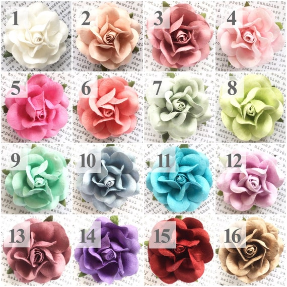 100 Deluxe Paper Flowers Diy Wedding Crafts Decorations Kit Etsy