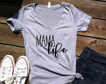Mom Life Shirt - Mom Shirt - Womens T Shirt - Womens Shirt Mom Of Boys - Mom Of Girls