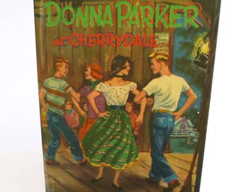 Country Western Tablet Case Made from Donna Parker Book, Square Dancers on Cover, Fits Kindle Fire, HD7, Galaxy Tab, LG Pad 7, Kobo Aura