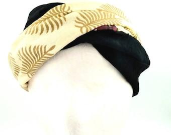 Easy combinable bandana, Yoga bandana, Bandana style, Black and white bandana