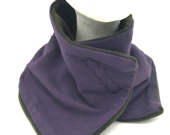 Winter neck warmer. Soft and stylish to wear. For women and men. Original and handmade