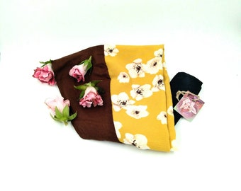 Beautifull flowered turban, very flattering and perfect for autumn