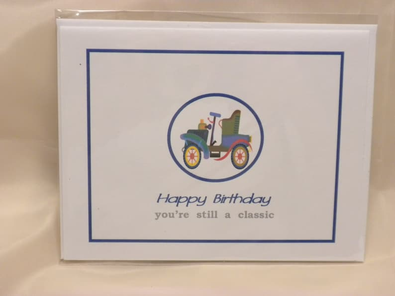 Birthday Cards For Car Lovers