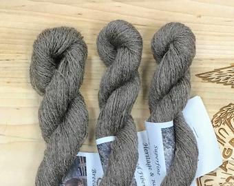 Superfine 100% Shetland laceweight Yarn from a PA Century Farm