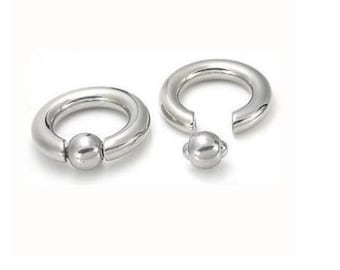 Industrial Strength Stainless Steel Captive Bead Ring CBR Multiple