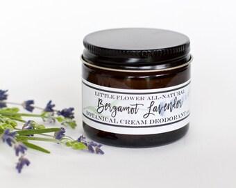 Lavender Deodorant, Natural Deodorant ,No Aluminum, Herbal Deodorant, Botanical deodorant, organic deodorant, no aluminum, cream deodorant