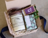 gift for her, custom gift, women gifts, New Job Gift, New Homeowners, Candle Gift Set, Handmade Soap Gift box, gift from daughter, spa gift