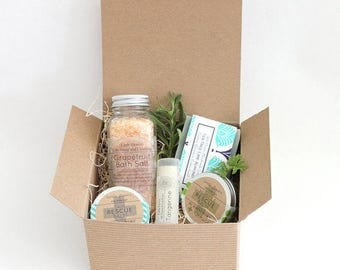 Natural Gift, Gift for Her, Homemade soap Gift box - Mothers Day Gifts - Mothers Day gift Basket personalized gift for mom