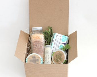 Spa Gift Box - Care Package, Self Care Gift Box, Thank You Gift, Teacher Appreciation Gift