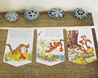 Winnie The Pooh Baby Shower Bunting - Nursery Tigger Banner Garland Decor Gift - Birthday Party Supplies Homewares For Kids Children Unisex