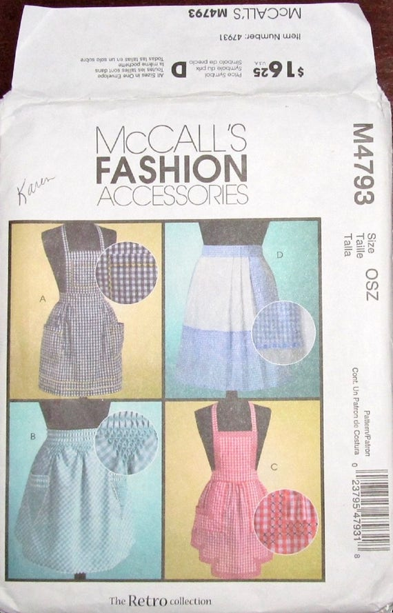 McCall 4793 Handwerk Schnittmuster | Etsy